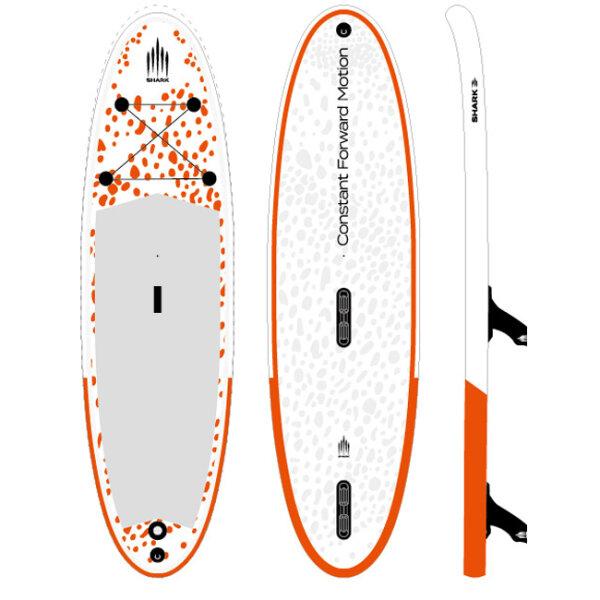 Shark Wind surfing-FLY X 305 10.0 x 32 x 6
