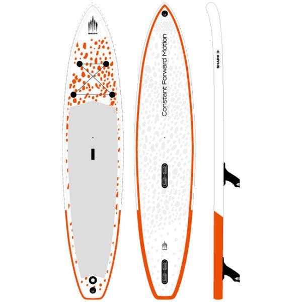 Shark Wind surfing-FLY T 381 12.6 x 31 x 6
