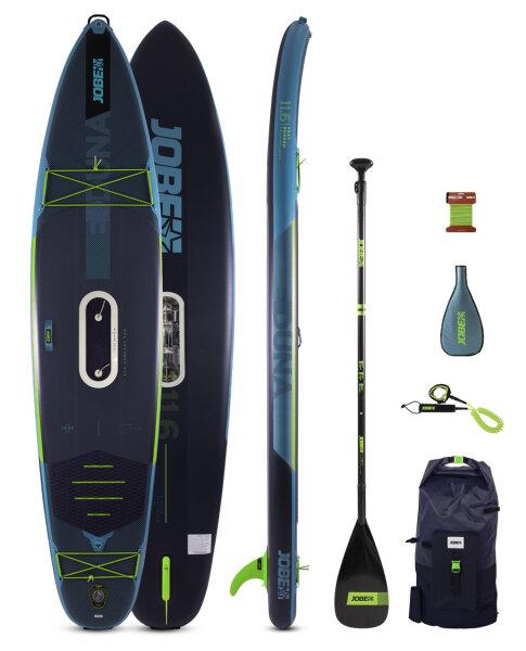 Jobe E-Duna 11.6 Inflatable Paddle Board Package + E-duna Drive